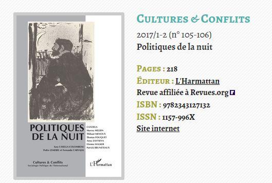 Culture et conflits covere