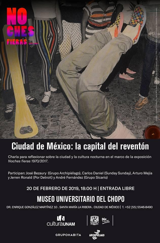Night culture in Chopo Mexico City